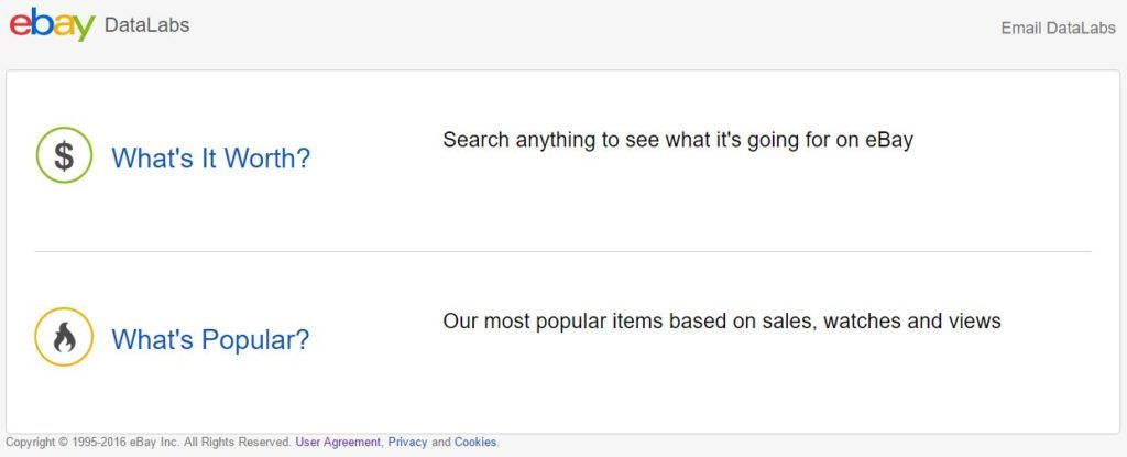 【eBay輸出】ebay datalabsとは