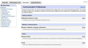Communication Preference