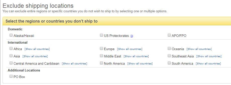 【eBay輸出】発送除外国の設定[完全保存版]