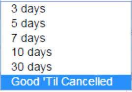 【eBay輸出】File Exchangeで出品期間をGood 'till cancelledにしたいのですがどうすればできますか?