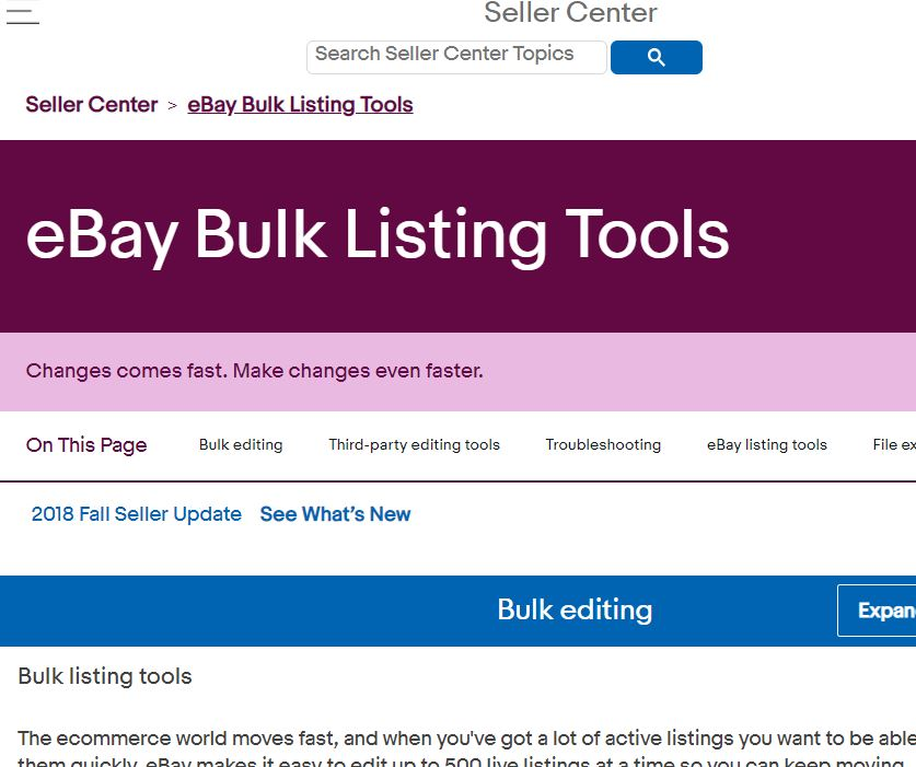 eBay輸出でFile Exchange出品の画像を差し替える方法